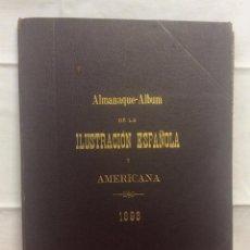 Coleccionismo de Revistas y Periódicos: ALMANAQUE ÁLBUM ILUSTRACIÓN ESPAÑOLA 1898. Lote 263712720