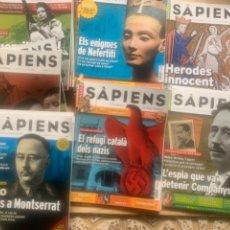 Coleccionismo de Revistas y Periódicos: 23 REVISTES SÁPIENS, NÚMEROS BAIXOS, 3,5,6.... Lote 263730535