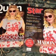 Coleccionismo de Revistas y Periódicos: MADONNA LOTE 2 REVISTAS FESTIVAL DE VENECIA. Lote 263798580