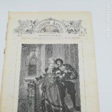 Collectionnisme de Revues et Journaux: REVISTA ILUSTRACION ARTISTICA. AÑO III. BARCELONA 25 FEBRERO DE 1884. Nº 113. EL TENTADOR.. Lote 264323444
