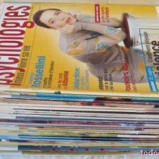 Coleccionismo de Revistas y Periódicos: LOTE 23 REVISTAS PSYCHOLOGIES EN FRANCÉS - VER DESCRIPCIÓN Y FOTOS. Lote 264436694