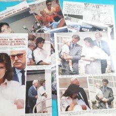 Coleccionismo de Revistas y Periódicos: CAROLINA MONACO-STEFANO CASIRAGHI -ANDRES ALBERTO CARLOTA -RANIERO -ALBERTO- RECORTE 13 PAG-AÑO 1986. Lote 264461679