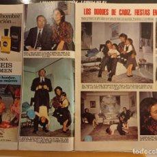 Colecionismo de Revistas e Jornais: DON ALFONSO DE BORBON DUQUE DE CADIZ CARMEN MARTINEZ BORDIU ROSSI BRISEIS FOR MEN. Lote 264478424