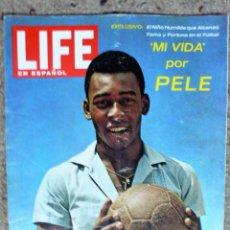 Coleccionismo de Revistas y Periódicos: REVISTA LIFE EN ESPAÑOL DE 8 DE JUNIO DE 1964: PELÉ. Lote 264557294
