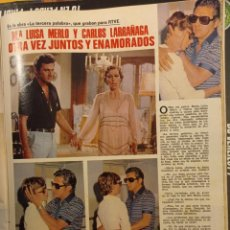Coleccionismo de Revistas y Periódicos: MARIA LUISA MERLO CARLOS LARRAÑAGA. Lote 278638293