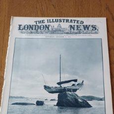Coleccionismo de Revistas y Periódicos: THE ILLUSTRATED LONDON NEWS 1933. ACCIDENTE EN EL MAR DE LA CHINA - ARQUEOLOGÍA USA - FACTORIA TURIN. Lote 265479174