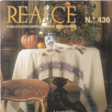 Coleccionismo de Revistas y Periódicos: REALCE, REVISTA DE LABORES Nº 436 BORDADO DE ASÍS * PUNTO DE CRUZ *. Lote 265810984