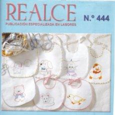 Coleccionismo de Revistas y Periódicos: REALCE, REVISTA DE LABORES Nº 444 PUNTO DE CRUZ PARA EL BEBÉ. Lote 265811049