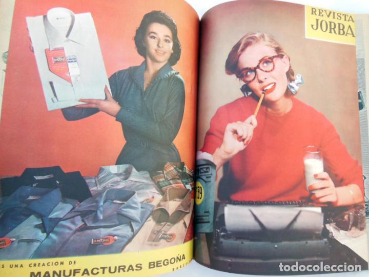 Coleccionismo de Revistas y Periódicos: REVISTA JORBA. 4 Tomos. Del número 1 al 60 (incluidos) Junio 1953 a Enero 1961 - Foto 2 - 262938285