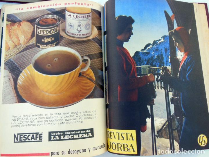 Coleccionismo de Revistas y Periódicos: REVISTA JORBA. 4 Tomos. Del número 1 al 60 (incluidos) Junio 1953 a Enero 1961 - Foto 3 - 262938285