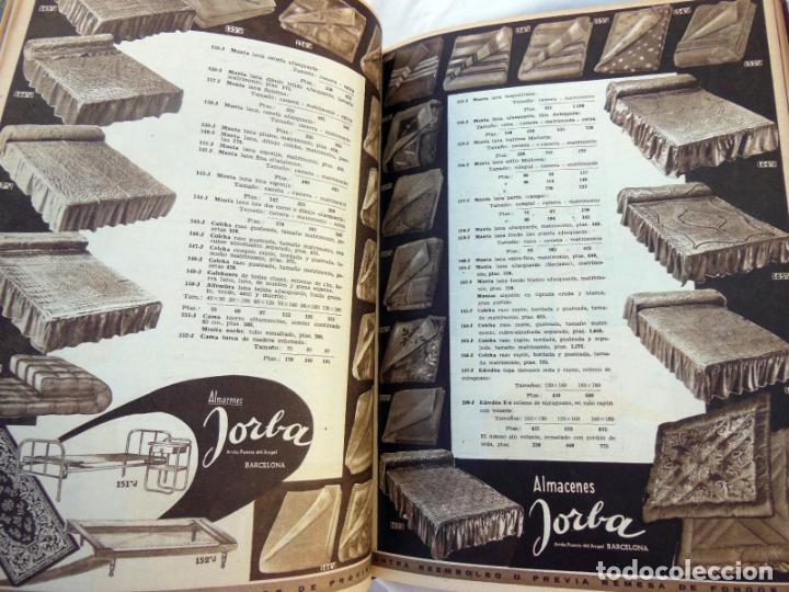 Coleccionismo de Revistas y Periódicos: REVISTA JORBA. 4 Tomos. Del número 1 al 60 (incluidos) Junio 1953 a Enero 1961 - Foto 5 - 262938285