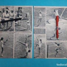 Coleccionismo de Revistas y Periódicos: CAROLINA MONACO - APRUEBA ASIGNATURA GIMNASIA- RECORTE 2 PAG - AÑO 1971. Lote 266021988