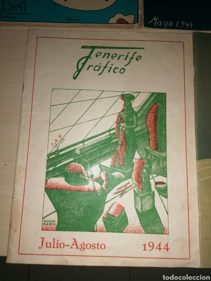 Coleccionismo de Revistas y Periódicos: Lote antiguas, muy escasas y difíciles revistas, TENERIFE GRÁFICO. Números 2,3,4,5,6. Año 1944 - Foto 5 - 266452828