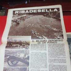Coleccionismo de Revistas y Periódicos: RIBADESELLA EL MILAGRO DEPORTIVO DE UN PUEBLO 1969. Lote 266566928