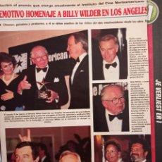 Coleccionismo de Revistas y Periódicos: BILLY WILDER CHARLTON HESTON WALTER MATTHAU JACK LEMMON BRIGITTE NIELSEN AUDREY HEPBURN TONY CURTIS. Lote 266750663