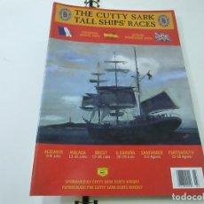 Coleccionismo de Revistas y Periódicos: PROGRAMA OFICIAL THE CUTTY SARK TALL SHIPS RACES - AÑO 2002 - N 9. Lote 266914229