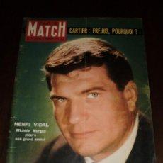 """Coleccionismo de Revistas y Periódicos: PARIS MATCH - Nº 558 - 1959 """"HENRI VIDAL"""". Lote 267058059"""