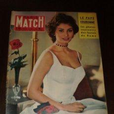"""Coleccionismo de Revistas y Periódicos: PARIS MATCH - Nº 501 - 1958 - """"SOPHIA LOREN"""". Lote 267059104"""