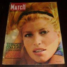 """Coleccionismo de Revistas y Periódicos: PARIS MATCH - Nº 630 -1963 """"MONICA VITTI"""". Lote 267059694"""