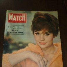 """Coleccionismo de Revistas y Periódicos: PARIS MATCH - Nº 508 - 1959 - """" ADIEU MONSIEUR COPY """". Lote 267060314"""