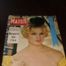 """Coleccionismo de Revistas y Periódicos: PARIS MATCH - Nº 473 - 1958 - """"BRIGITTE A SÉVILLE"""". Lote 267061144"""