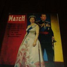 """Coleccionismo de Revistas y Periódicos: PARIS MATCH - Nº 567 - 1960 - """"ELIZABETH"""". Lote 267061509"""