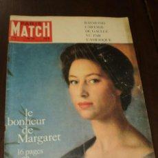 """Coleccionismo de Revistas y Periódicos: PARIS MATCH - Nº 578 - 1960 - """"LE BONHEUR DE MARGARET"""". Lote 267062164"""