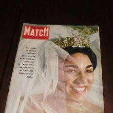 """Coleccionismo de Revistas y Periódicos: PARIS MATCH - Nº 559 - 1959 - """"FARAH DIVA"""". Lote 267063034"""