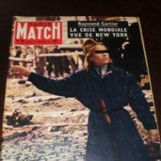 """Coleccionismo de Revistas y Periódicos: PARIS MATCH - Nº 397 - 1956 - """"LA CRISE MONDIALE VUE DE NY"""". Lote 267068244"""