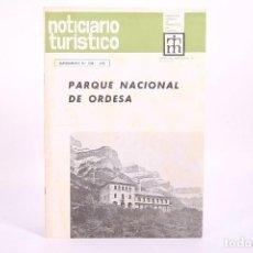 Coleccionismo de Revistas y Periódicos: NOTICIARIO TURÍSTICO - PARQUE NACIONAL DE ORDESA Nº 308 - AÑO 1970. Lote 267069999
