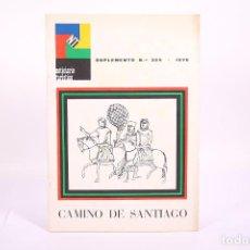 Coleccionismo de Revistas y Periódicos: NOTICIARIO TURÍSTICO - SUPLEMENTO Nº 324 / CAMINO DE SANTIAGO - AÑO 1970 - PORTADA DIEGO GAMEZ. Lote 267070039