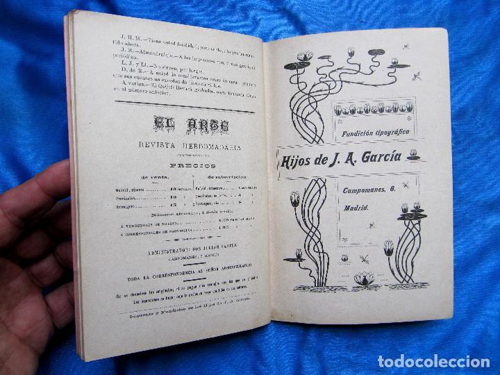 Coleccionismo de Revistas y Periódicos: 17 REVISTAS. REVISTA HEBDOMADARIA EL ARTE. DEL Nº 2 AL Nº 24. COMPLETAS. 1899. - Foto 6 - 267089999