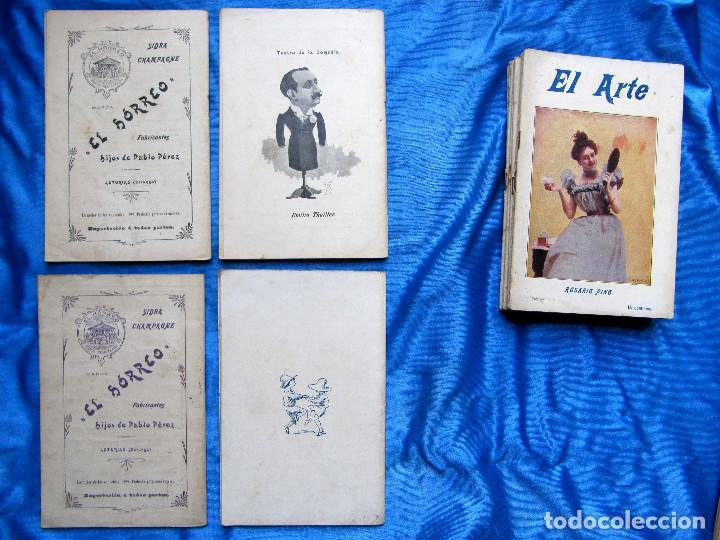 Coleccionismo de Revistas y Periódicos: 17 REVISTAS. REVISTA HEBDOMADARIA EL ARTE. DEL Nº 2 AL Nº 24. COMPLETAS. 1899. - Foto 10 - 267089999
