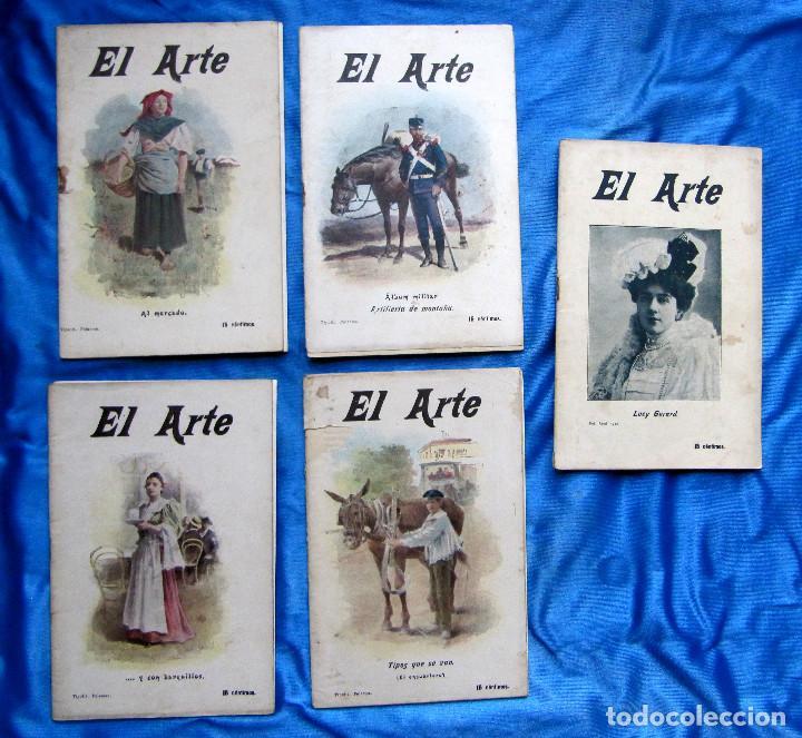 Coleccionismo de Revistas y Periódicos: 17 REVISTAS. REVISTA HEBDOMADARIA EL ARTE. DEL Nº 2 AL Nº 24. COMPLETAS. 1899. - Foto 12 - 267089999