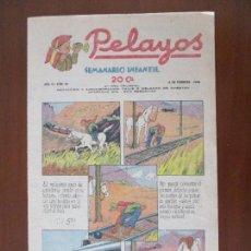Coleccionismo de Revistas y Periódicos: PELAYOS. SEMANARIO INFANTIL. Nº 59. 6 DE FEBRERO DE 1938.(CARLISTA, CARLISMO, REQUETÉ, GUERRA CIVIL). Lote 267427909