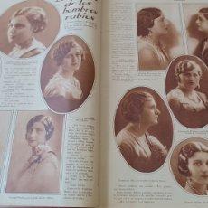 Collectionnisme de Revues et Journaux: FALLAS VALENCIA - BELLEZAS FALLERAS .AÑO 1930 DOS PÁGINAS .. Lote 267449834