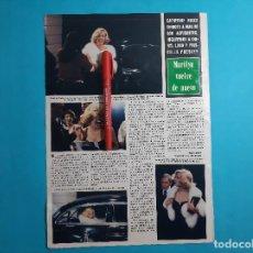 Coleccionismo de Revistas y Periódicos: CATHERINE HICKS -ENCARNA A MARILYN MONROE - RECORTE 1 PAG- AÑO 1980. Lote 267462429