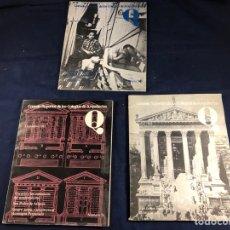 Coleccionismo de Revistas y Periódicos: CONSEJO SUPERIOR DE LOS COLEGIOS DE ARQUITECTOS AÑOS 80. Lote 267570624