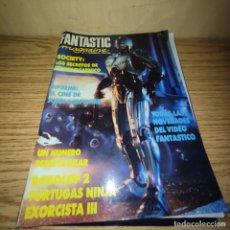 Coleccionismo de Revistas y Periódicos: FANTASTIC MAGAZINE: ROBOCOP II, TORTUGAS NINJA, EL EXORCISTA III. Lote 268125989