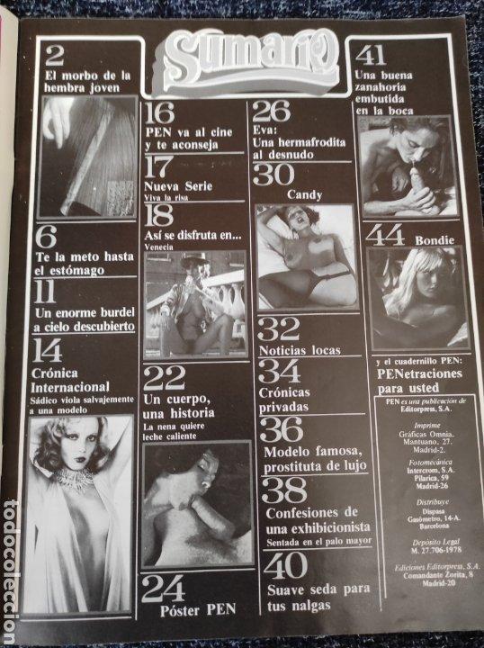 Coleccionismo de Revistas y Periódicos: REVISTA PEN Nº 68 MARIE HARPER ( PRIMERA EPOCA ) - Foto 2 - 268319014
