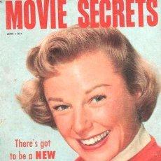 Coleccionismo de Revistas y Periódicos: REVISTA MOVIE SECRETS ANO 1956 U S A MARILYN MONROE. Lote 268333194