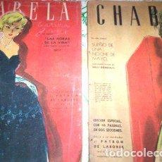 Coleccionismo de Revistas y Periódicos: 4 REVISTA CHABELA. Lote 268333979