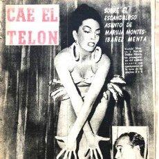 Coleccionismo de Revistas y Periódicos: AHORA N 2270 MARILYN MONROE IBANEZ MENTA MARZO 1955. Lote 268347564