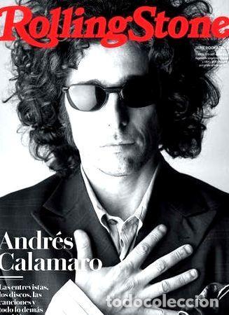 REVISTA ROLLING STONE ESPECIAL ANDRES CALAMARO BOOKZINE (Coleccionismo - Revistas y Periódicos Modernos (a partir de 1.940) - Otros)