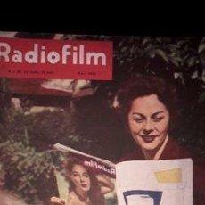Coleccionismo de Revistas y Periódicos: REVISTA RADIO FILM ANO X N 527 ANO 1955 ELIZABETH TAYLOR. Lote 268370269