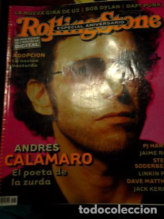 ANTIGUA REVISTA ROLLING STONE ANDRES CALAMARO EL SALMON (Coleccionismo - Revistas y Periódicos Modernos (a partir de 1.940) - Otros)