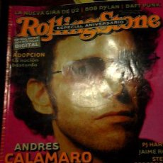 Coleccionismo de Revistas y Periódicos: ANTIGUA REVISTA ROLLING STONE ANDRES CALAMARO EL SALMON. Lote 268397204