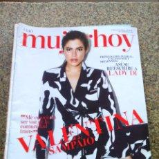Coleccionismo de Revistas y Periódicos: REVISTA MUJER HOY -- Nº 1130 -- VALENTINA SAMPAIO --. Lote 268410074