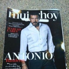 Coleccionismo de Revistas y Periódicos: REVISTA MUJER HOY -- Nº 1131 -- ANTONIO BANDERAS --. Lote 268410204