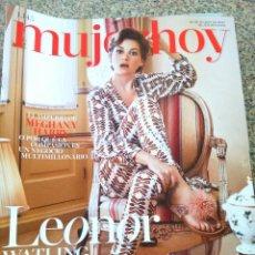 Coleccionismo de Revistas y Periódicos: REVISTA MUJER HOY -- Nº 1145 -- LEONOR WATLING --. Lote 268410714